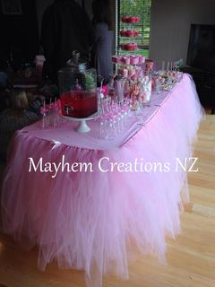 Party tutus - tables, cakes and sets