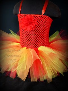 Tutti Fruity Tutu Dress