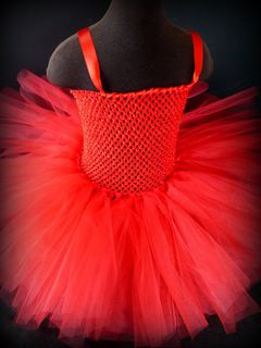 Single colour tutu dress