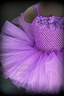 Charlotte Single Colour Tutu Dress