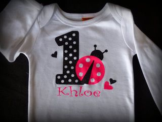 Customised Onesies and Tshirts