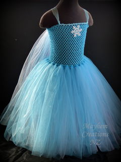 Blue Princess Tutu Dress - Winter Wonderland