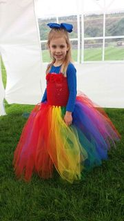 Mayhem Princess Rainbow tutu