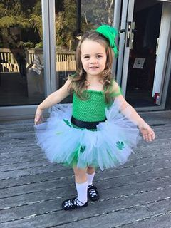Mayhem Custom tutu dress St Patrick's day