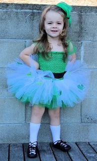 Mayhem Creations St Paddys Day tutu dress