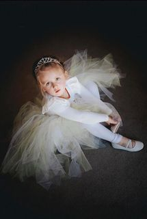 Mayhem Flower Girl tutu skirt
