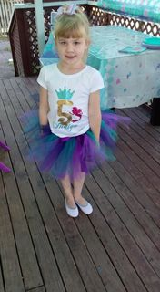 Mayhem Creations Waterfall Fairy tutu skirt
