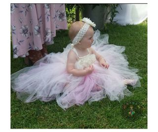 Mayhem Princess Flower Girl tutu dress