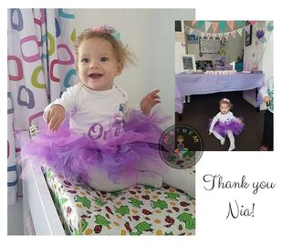 Purple Pizzaz Tutu Skirt
