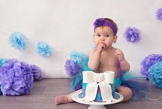 Mayhem Creations Cake Smash tutu outfit
