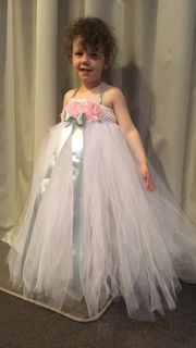 Mayhem Flower girl tutu dress