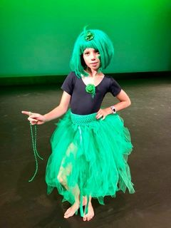 Mayhem Green tutu skirt
