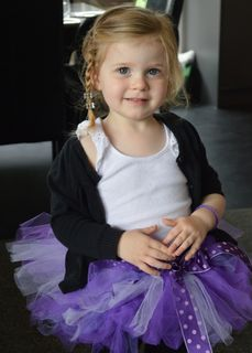 Mayhem Purple Pizzaz tutu skirt