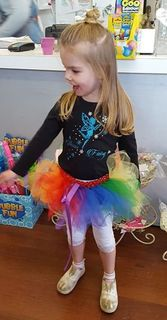 Mayhem Creations Rainbow tutu skirt