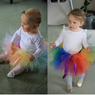 Mayhem Rainbow tutu skirts