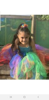 Mayhem Rainbow tutu dress