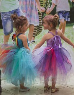Mayhem Girls in their tutu dresses