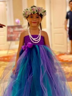 Mayhem Purple Waterfall fairy tutu dress
