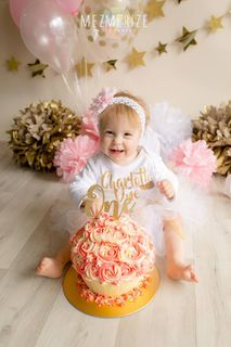 Mayhem Creations Cake smash tutu skirt