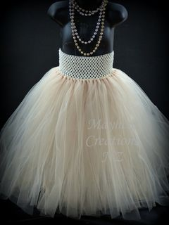 Mayhem Creations Flower Girls Tutu
