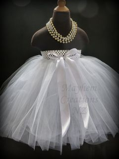 Mayhem Creations Flower Girls Tutu Skirt