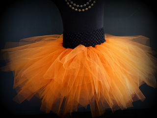 Mayhem Creations Orange Tutu Skirt