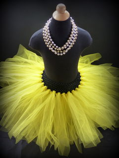 Mayhem Creations Yellow Tutu Skirt