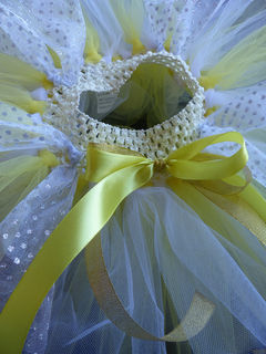 Mayhem Custom Yellow Tutu Skirt