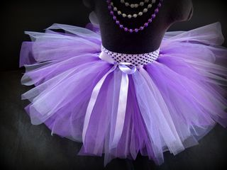 Mayhem Lavender and Purple tutu skirt