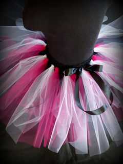 Mayhem Black Pink White Tutu Skirt