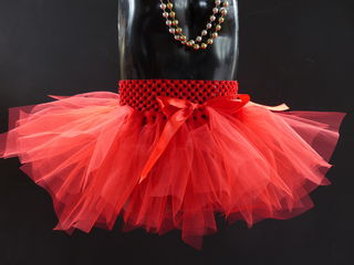 Mayhem Creations Red Demi tutu skirt