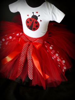 Mayhem Creations Tutu skirt and Custom Onesie Outfit