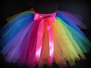 Mayhem Creations Princess Rainbow Tutu Skirt