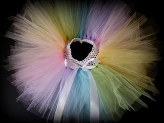 Mayhem Pastel Rainbow Tutu Skirt