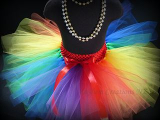 Mayhem Creations NZ Rainbow Tutu Skirt