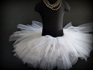 Mayhem Creations NZ White Tutu Skirt