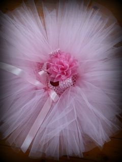 Mayhem Creations Pink Tutu and matching headband