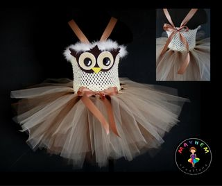Mayhem Custom Owl Tutu Dress