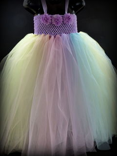 Mayhem Creations Pastel Rainbow Tutu