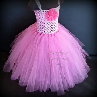 Mayhem Creations Pink Princess tutu dress
