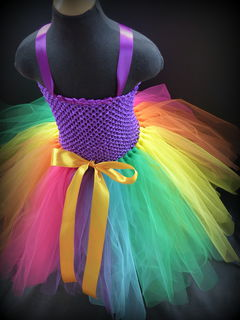 Mayhem Creations Princess Rainbow Tutu