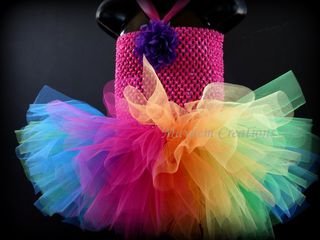 Mayhem Creations Rainbow Tutu Dress