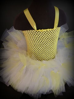 Mayhem Creations custom order yellow tutu dress