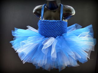 Mayhem Creations Blue Tutu Dress