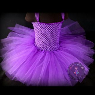 Mayhem Creations Purple tutu dress