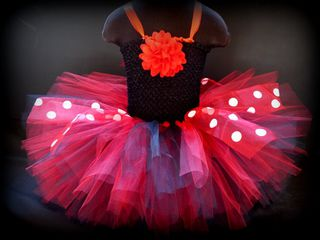Mayhem Creations Red MiniM Tutu