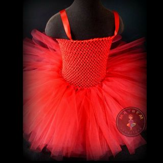 Mayhem Creations Red tutu dress