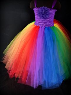 Mayhem Rainbow Princess tutu dress