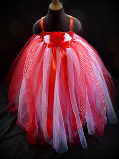 Mayhem Creations Xmas Princess tutu