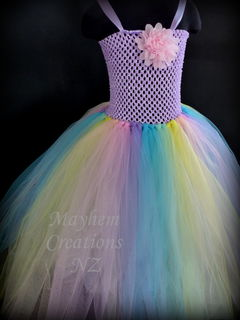 Mayhem Princess Pastel Rainbow Tutu Dress